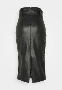 Glamorous - BELTED PENCIL SKIRT - Pencil skirt - black - 1
