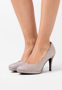 Tamaris - COURT SHOE - High heels - space glam - 0