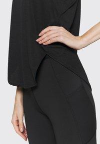 adidas Performance - LOGO TANK - T-shirt sportiva - black/grey four/white - 5