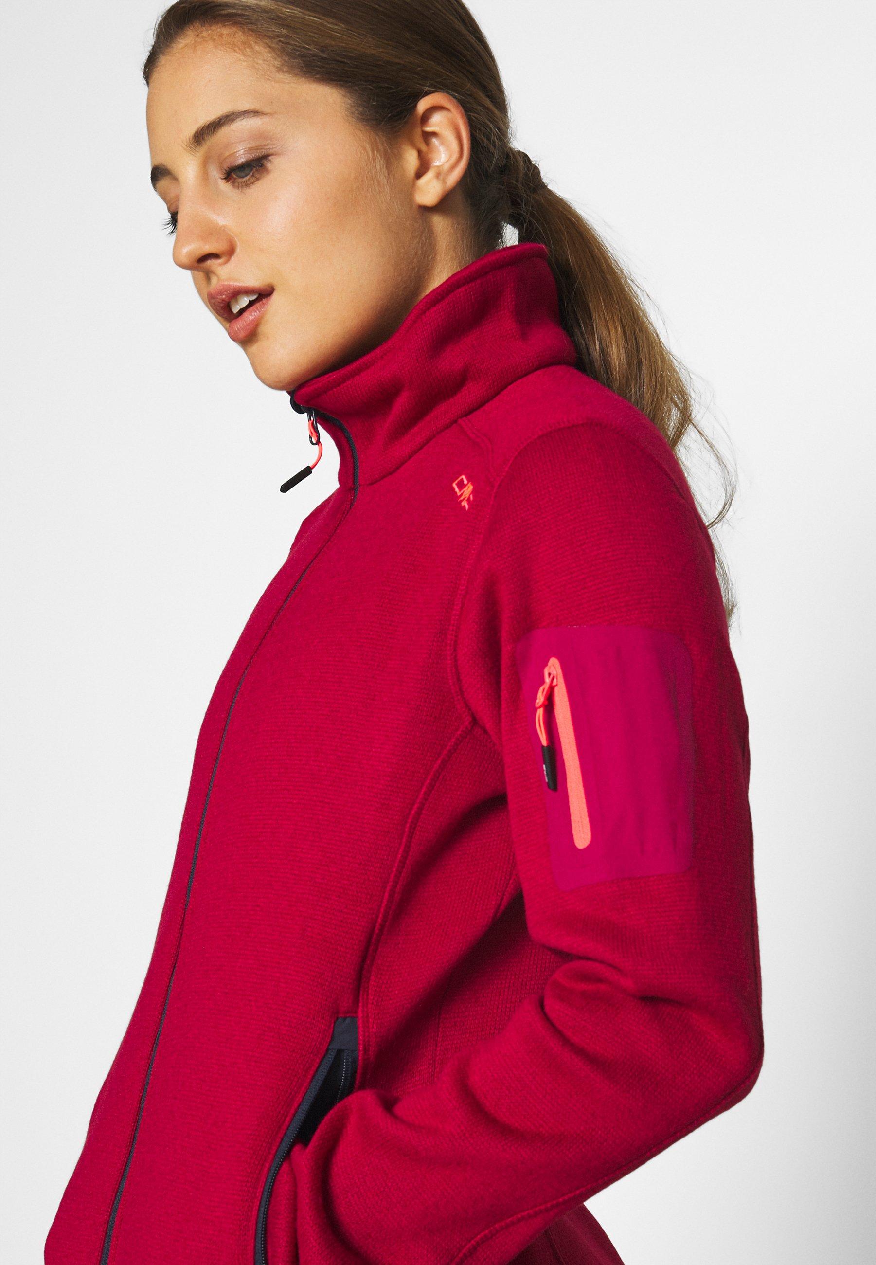 CMP Fleece jacket - magenta blue vyP6S