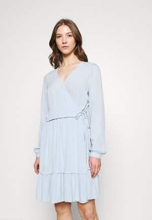 VIMESA WRAP DRESS - Day dress - blue