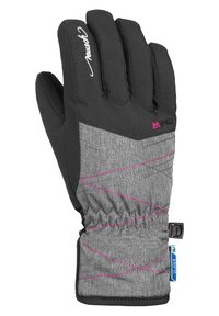 Reusch - AIMÉE JUNIOR - Gloves - black grey melan pink glo - 1