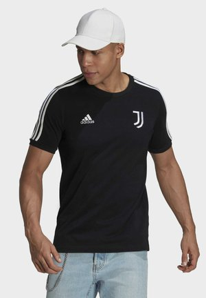 JUVE 3S TEE - Klubtrøjer - black/white
