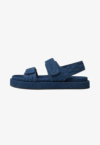 Sandals - mittelblau