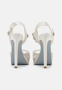 Dune London - MIRACLE - High heeled sandals - ivory - 3