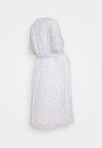 Glamorous Bloom - PIN SPOT WRAP DRESS - Day dress - white/lavender - 1