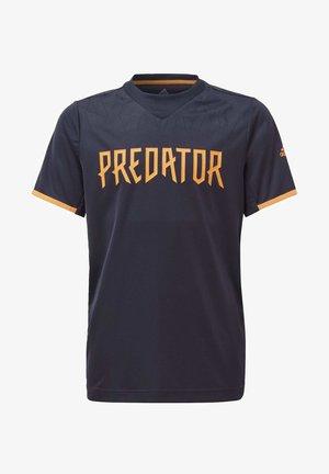 FOOTBALL INSPIRED PREDATOR AEROREADY JERSEY - Print T-shirt - blue