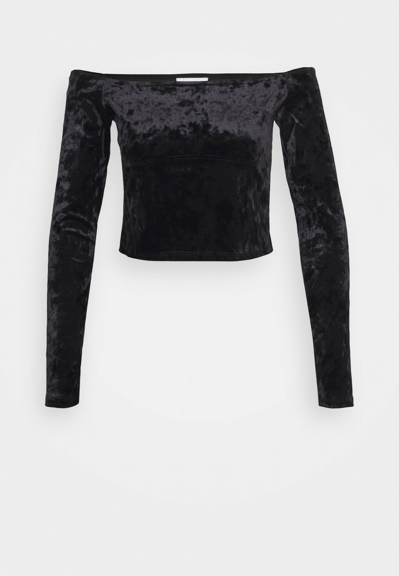 Topshop - BARDOT - Long sleeved top - black