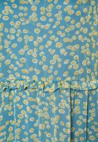 YAS - YASCLARIS LONG SUMMER DRESS  - Maxi dress - blue heaven/claris - 2