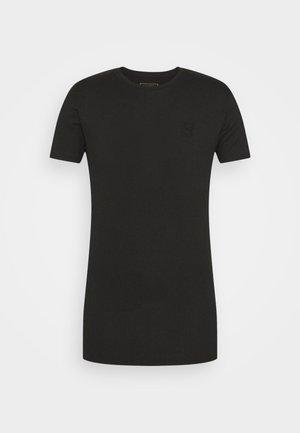 FINE GYM TEE - Basic T-shirt - black