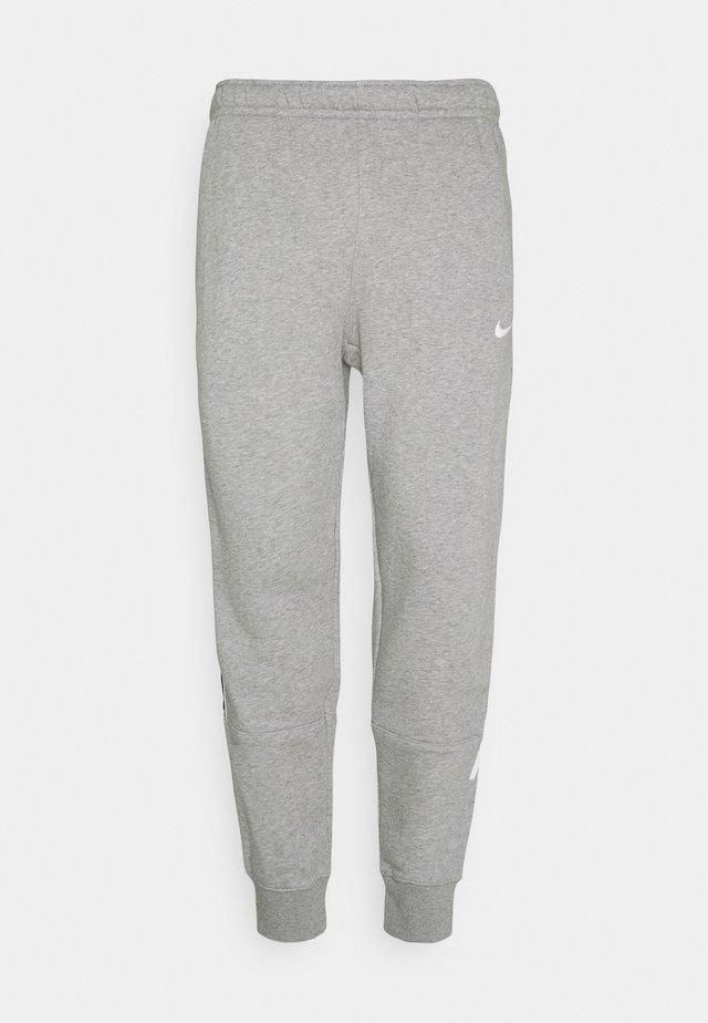 REPEAT - Pantalon de survêtement - grey heather/white