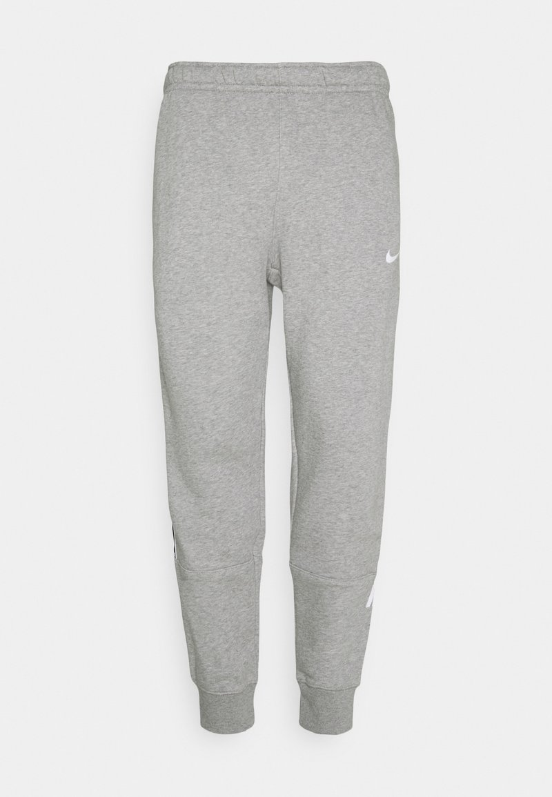 Nike Sportswear - REPEAT - Spodnie treningowe - dark grey heather/white