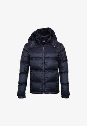 MIT KAPUZE WINT - Gewatteerde jas - night blue