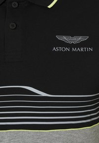 Hackett Aston Martin Racing - AMR STRIPE POLO - Polo - black/grey - 2
