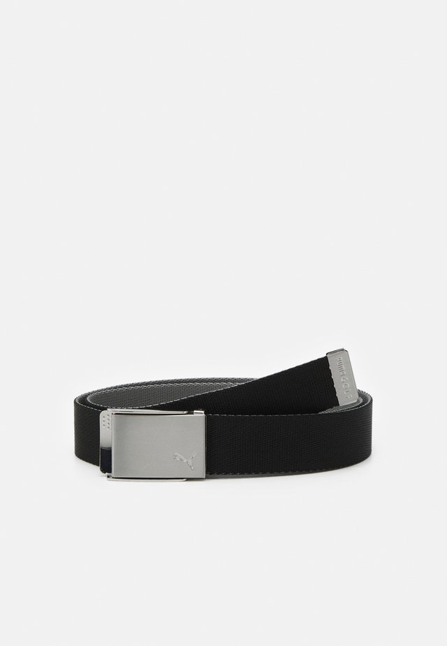 REVERSIBLE BELT - Ceinture - black