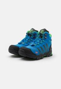 TrollKids - KIDS TROLLTUNGA MID UNISEX - Hiking shoes - medium blue/green - 1