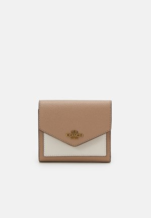 COLORBLOCK SMALL WALLET - Wallet - taupe/multi