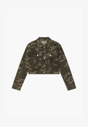 CAMO MALAGA  - Denim jacket - green