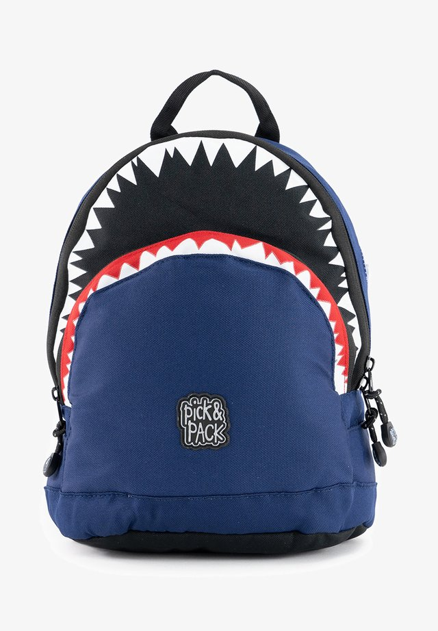 SHARK - Rugzak - blau