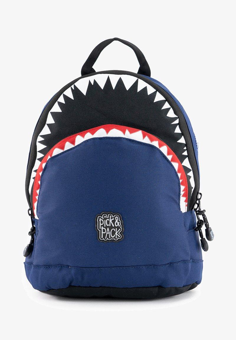pick & PACK - SHARK - Mochila - blau