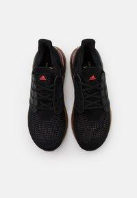 adidas Performance - ULTRABOOST 20 PRIMEBLUE PRIMEKNIT RUNNING SHOES - Zapatillas de running neutras - core black/grey five/signal pink - 3