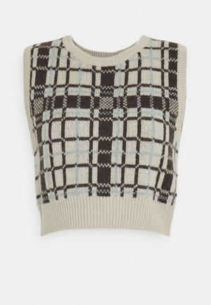 VEST - Pullover - brown