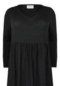 Live Unlimited London - Jersey dress - black - 4