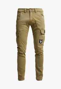 Alpha Industries - PETROL PATCH - Pantalon cargo - oliv - 4