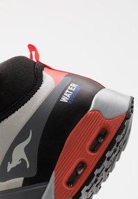 KangaROOS - X HYDRO - Höga sneakers - steel grey/red - 5