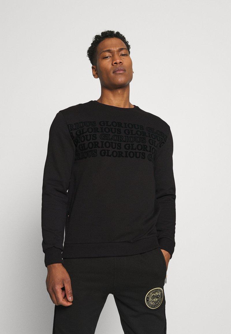 Glorious Gangsta - ESTEN CREW - Sweatshirt - black