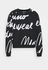 Moschino Underwear - Pyjama top - black/white - 3