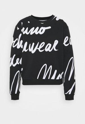 Pyjama top - black/white