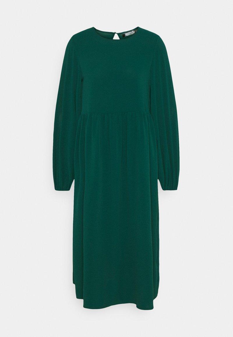 Missguided Petite - OVERSIZED MIDI DRESS - Day dress - dark green
