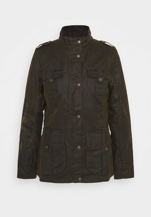 WINTER DEFENCE - Winter jacket - olive/classic