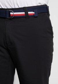 Tommy Hilfiger - BROOKLYN BELT - Shorts - black - 3