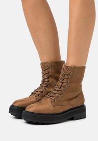 Even&Odd Wide Fit - Winter boots - dark brown - 0