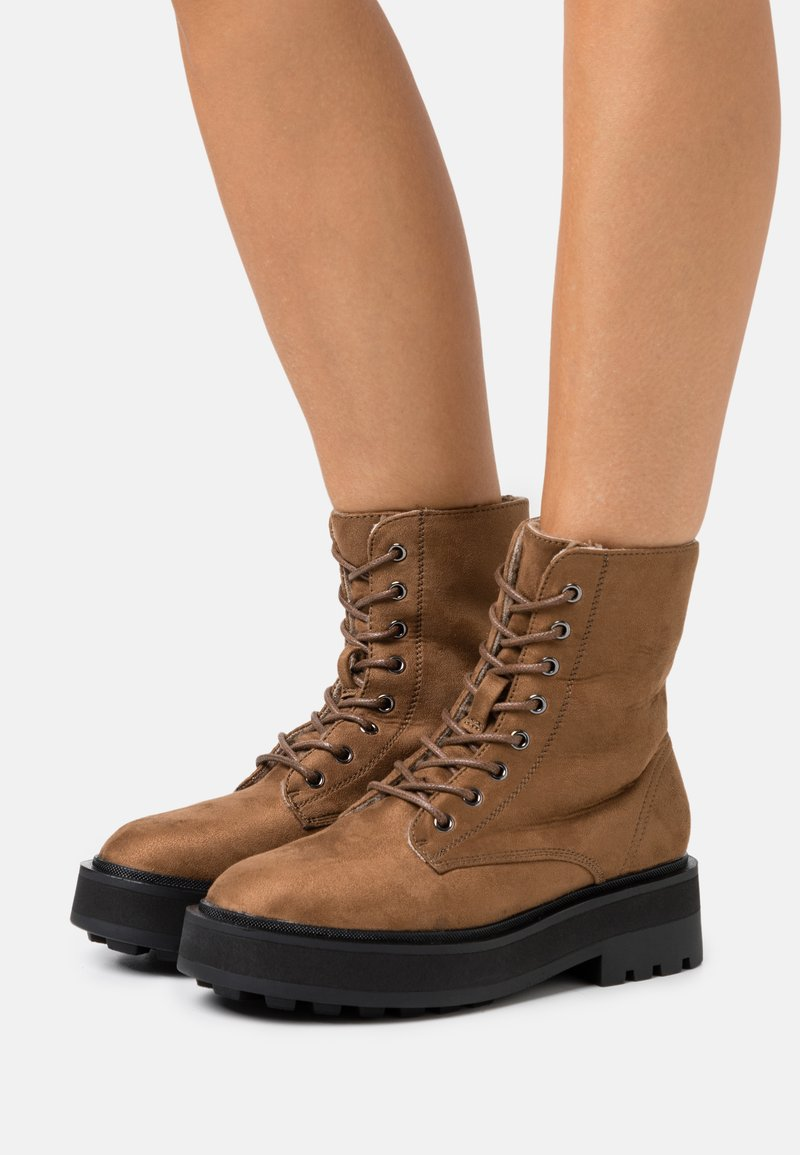 Even&Odd Wide Fit - Winter boots - dark brown