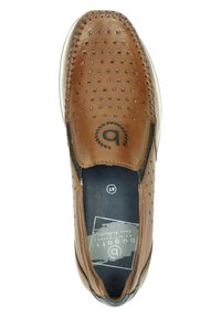 Bugatti - Slip-ons - cognac - 1