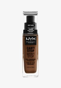 Nyx Professional Makeup - CAN'T STOP WON'T STOP FOUNDATION - Foundation - 18 deep sable - 0