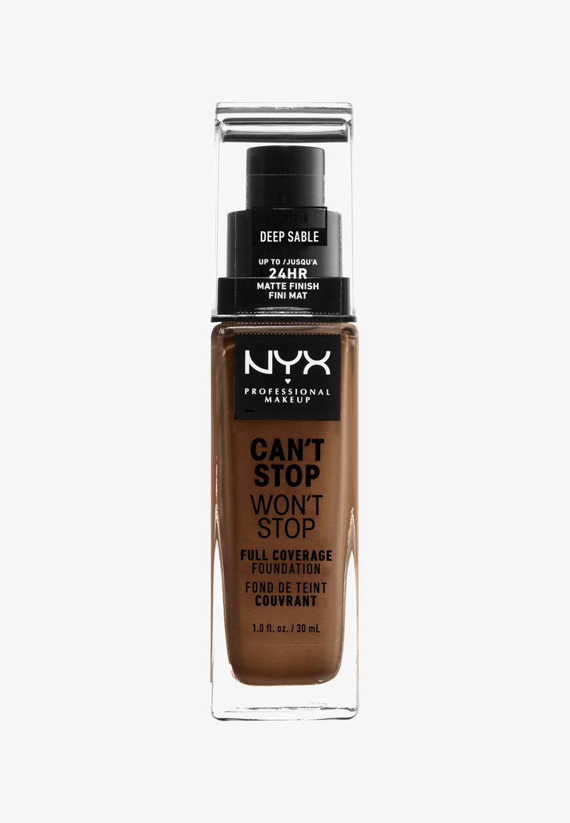 Nyx Professional Makeup - CAN'T STOP WON'T STOP FOUNDATION - Foundation - 18 deep sable