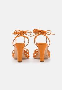 Loeffler Randall - HALLIE - Sandály - tangerine - 3