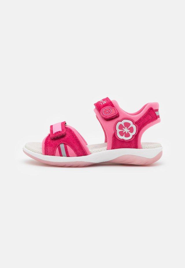 SUNNY - Sandals - rot/rosa