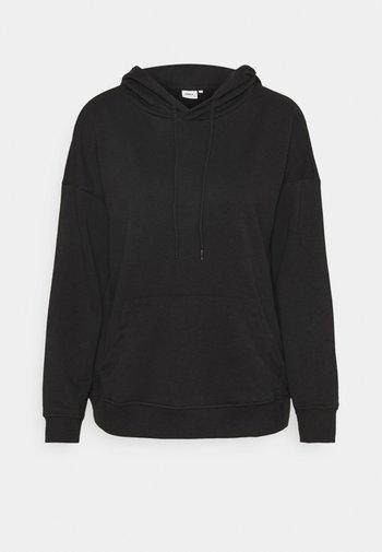 ONLFEEL  - Jersey con capucha - black