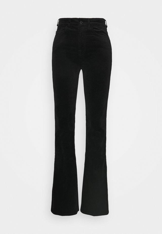 LISHA - Spodnie materiałowe - black