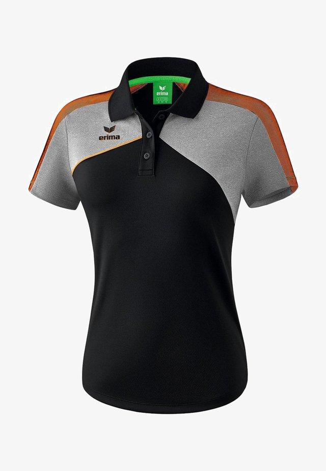 PREMIUM ONE 2.0 POLOSHIRT DAMEN - Polo shirt - schwarz / grau