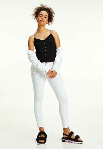 SCARLETT LOW RISE  ANKLE  - Jeans Skinny Fit - sandy wh str