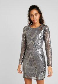 Nly by Nelly - LOVE THAT DRESS - Vestito elegante - silver - 0