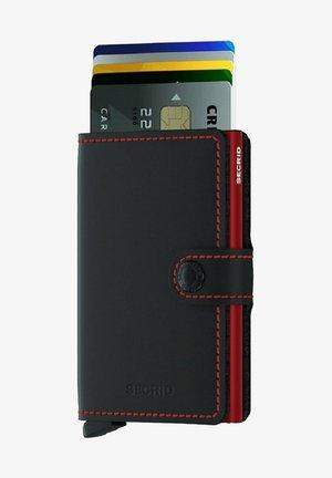 Wallet - black  red