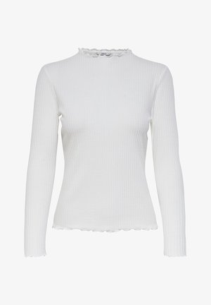 ONLEMMA HIGH NECK - Long sleeved top - egret