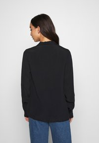 Nly by Nelly - THE BLOUSE - Button-down blouse - black - 2